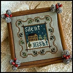 Little House Needleworks - 2011 Ornament #5 - Silent Night MAIN