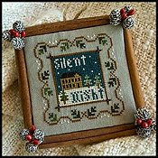 Little House Needleworks - 2011 Ornament #5 - Silent Night THUMBNAIL