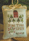 Little House Needleworks - 2011 Ornament #6 Pine Tree Inn THUMBNAIL