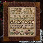 Little House Needleworks - The Melicent Turner Sampler