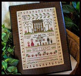 Little House Needleworks The Family Sampler Cross Stitch