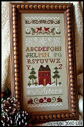 Little House Needleworks - Winter Band Sampler MAIN
