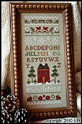 Little House Needleworks - Winter Band Sampler