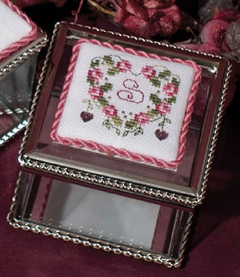 Little Square Glass Box (3x3)