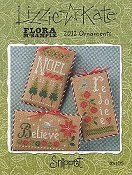 Lizzie Kate Snippet - Flora McSample 2012 Ornaments THUMBNAIL