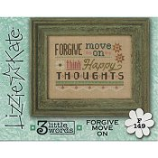 Lizzie Kate Flip-It Series - 3 Little Words - Forgive Move On