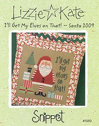Lizzie Kate Snippet - I'll Get My Elves on That! - Santa '09 MAIN