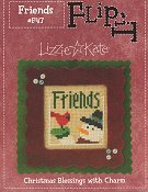 Lizzie Kate - Christmas Blessings Flip It - Friends