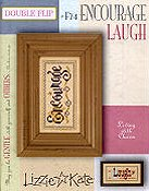 Lizzie Kate - Living with Charm Double Flip Series - Encourage Laugh