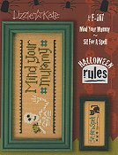 Lizzie Kate - Halloween Rules Double Flip Series - Mind Your Mummy / Sit For A Spell