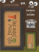 Lizzie Kate - Halloween Rules Double Flip Series - Brew Some Fun / Greet A Ghost