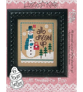 Lizzie Kate - 6 Snow Belles Flip It - All Dressed Up MAIN
