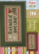 Lizzie Kate - Christmas Rules Double Flip Series - Be Kind & Treasure Family