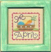 Lizzie Kate Flip-It: Stamps - April