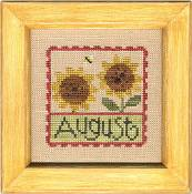 Lizzie Kate Flip-It: Stamps - August