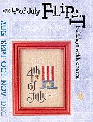 Lizzie Kate - Flip-It:  Holidays With Charm - Fourth of July