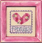 Lizzie Kate Flip-It: Stamps - February