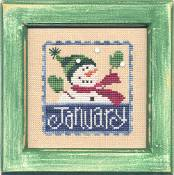 Lizzie Kate Flip-It: Stamps - January