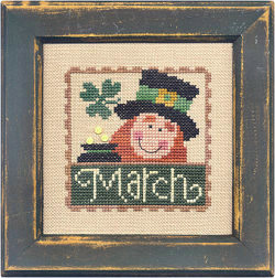 Lizzie Kate Flip-It Stamps - March MAIN