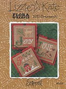 Lizzie Kate Snippet - Flora McSample 2011 Ornaments THUMBNAIL