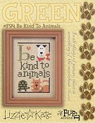 Lizzie Kate - Green Flip It - Be Kind To Animals THUMBNAIL