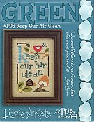 Lizzie Kate - Green Flip It - Keep Our Air Clean