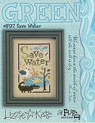 Lizzie Kate - Green Flip It - Save Water