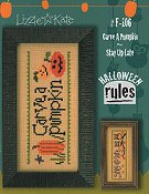 Lizzie Kate - Halloween Rules Double Flip Series - Carve A Pumpkin / Stay Up Late