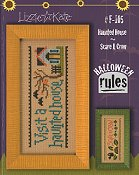 Lizzie Kate - Halloween Rules Double Flip Series - Haunted House / Scare A Crow