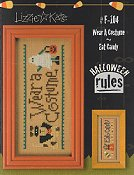 Lizzie Kate - Halloween Rules Double Flip Series - Wear A Costume / Eat Candy