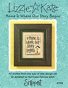 Lizzie Kate Snippet - Home Is Where Our Story Begins THUMBNAIL