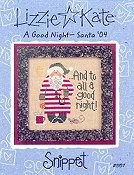 Lizzie Kate Snippet - A Good Night - Santa '04