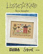 Lizzie Kate Snippet - Flora McSample Farm Sampler