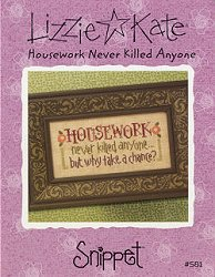 Lizzie Kate Snippet - Housework Never Killed Anyone MAIN