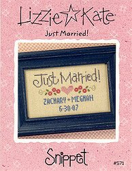 Lizzie Kate Snippet - Just Married!