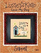 Lizzie Kate Snippet - Love My Dog THUMBNAIL
