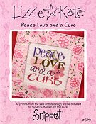 Lizzie Kate Snippet - Peace Love and a Cure THUMBNAIL