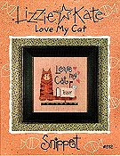 Lizzie Kate Snippet - Love My Cat THUMBNAIL