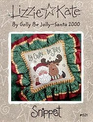 Lizzie Kate Snippet - By Golly Be Jolly - Santa 2000_MAIN