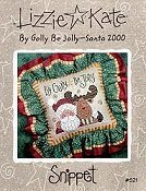 Lizzie Kate Snippet - By Golly Be Jolly - Santa 2000 THUMBNAIL