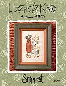 Lizzie Kate Snippet - Autumn ABC's THUMBNAIL