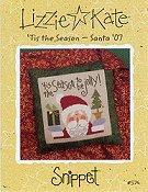 Lizzie Kate Snippet - 'Tis the Season - Santa '07_THUMBNAIL