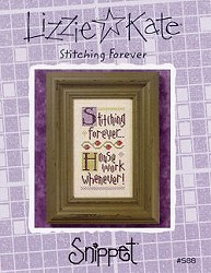 Lizzie Kate Snippet - Stitching Forever MAIN