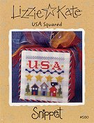 Lizzie Kate Snippet - USA Squared