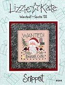Lizzie Kate Snippet - Wanted!  - Santa '02