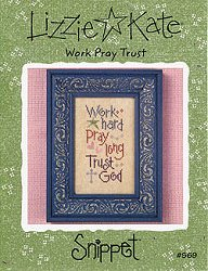 Lizzie Kate Snippet - Work Pray Trust
