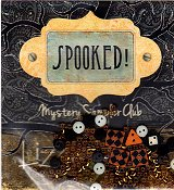 Lizzie Kate - Spooked Mystery Sampler - Embellishment Pack
