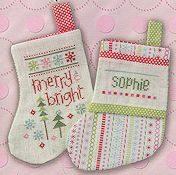 Lizzie Kate Pre-finished Mini Stocking