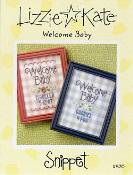 Lizzie Kate Snippet - Welcome Baby THUMBNAIL