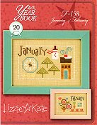 Lizzie Kate - Year Book Double Flip Series - January & February